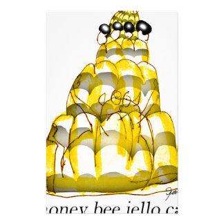 贅沢なfernandesの蜂蜜の蜂のjello 便箋