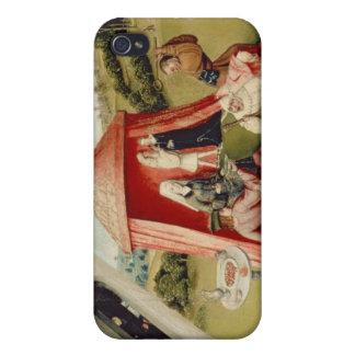 贅沢、7のテーブルからの詳細 iPhone 4 CASE