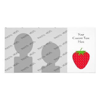 赤いいちご カード