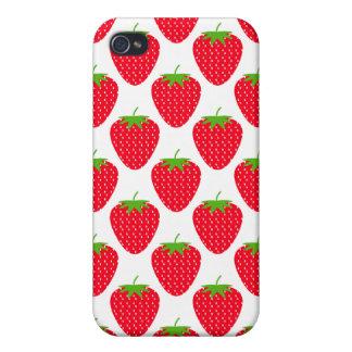 赤いいちごPern. iPhone 4/4Sケース