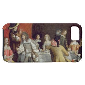 赤いおおいの下で食事しているT30878 Elegant Company iPhone SE/5/5s ケース