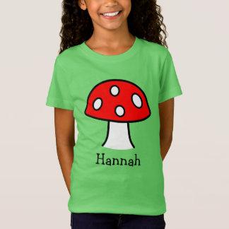 赤いきのこのTシャツ(子供) Tシャツ