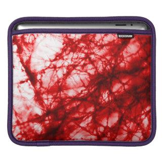 赤いこぶだらけ型 iPadスリーブ
