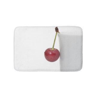 赤いさくらんぼの果実 バスマット