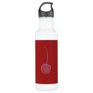 赤いさくらんぼの自由 ウォーターボトル