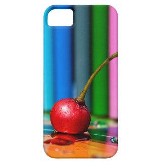 赤いさくらんぼ iPhone SE/5/5s ケース