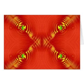 赤いさざ波 カード