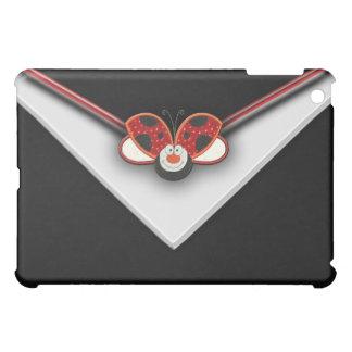 赤いてんとう虫の黒 iPad MINI CASE