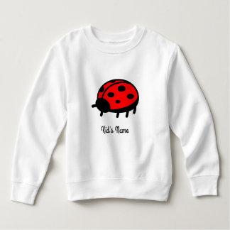 赤いてんとう虫 スウェットシャツ