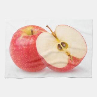 赤いりんご キッチンタオル