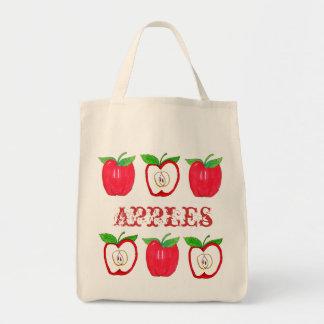 赤いりんご トートバッグ