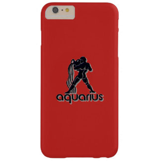 赤いアクエリアス、iPhone 6/6sと、電話箱 Barely There iPhone 6 Plus ケース