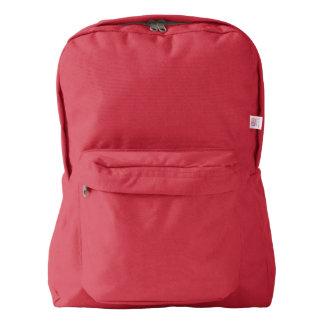 赤いアメリカ人のApparel™のバックパック American Apparel™バックパック