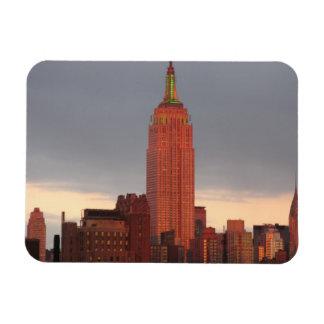 赤いエンパイア・ステート・ビルディング マグネット