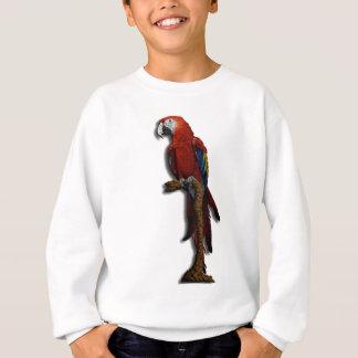 赤いオウムのスエットシャツだけ スウェットシャツ