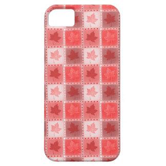 赤いカナダのかえで iPhone SE/5/5s ケース