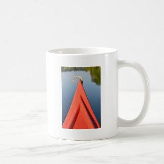 赤いカヌー コーヒーマグカップ