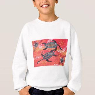 赤いカメ スウェットシャツ