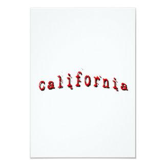 赤いカリフォルニア カード