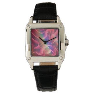 赤いカーネーションの時計 Red carnation watch 腕時計