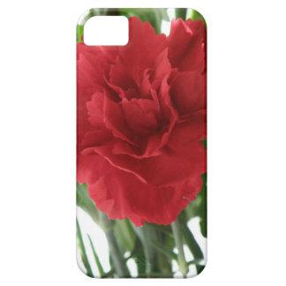 赤いカーネーションのiPhone 5の箱 iPhone SE/5/5s ケース