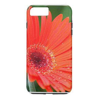 赤いガーベラのデイジー iPhone 8 PLUS/7 PLUSケース