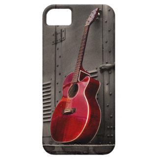 赤いギターのiPhone 5/5sの携帯電話カバー iPhone SE/5/5s ケース