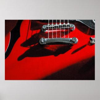 赤いギター ポスター