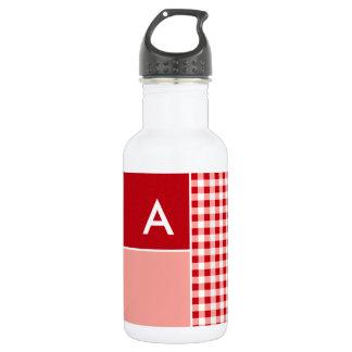 赤いギンガム ウォーターボトル