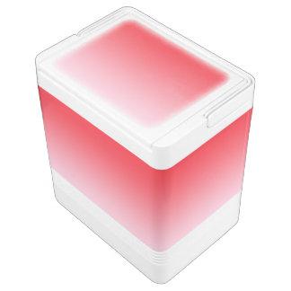 赤いグラデーション IGLOOクーラーボックス