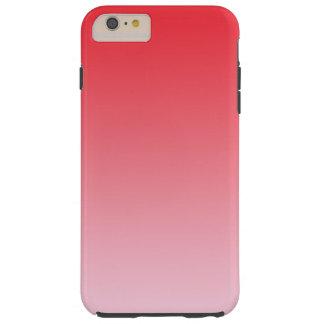 赤いグラデーション TOUGH iPhone 6 PLUS ケース