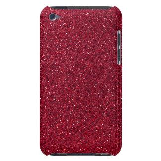 赤いグリッター Case-Mate iPod TOUCH ケース