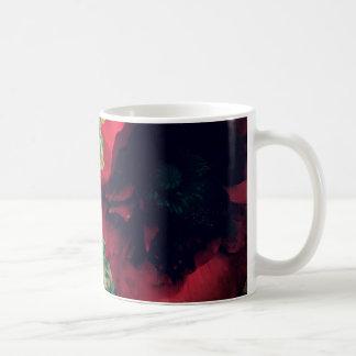 赤いケシ愛 コーヒーマグカップ