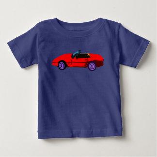 赤いコルベット ベビーTシャツ