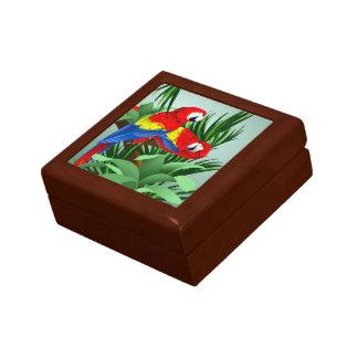 赤いコンゴウインコ ギフトボックス