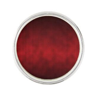 赤いゴシック様式グラデーションな背景の芸術 ラペルピン