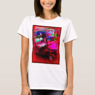 赤いゴルフ車 Tシャツ