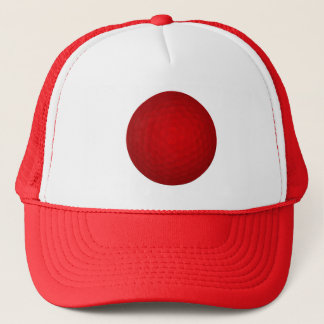 赤いゴルフ・ボール キャップ