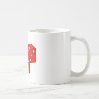 赤いサイコロ コーヒーマグカップ