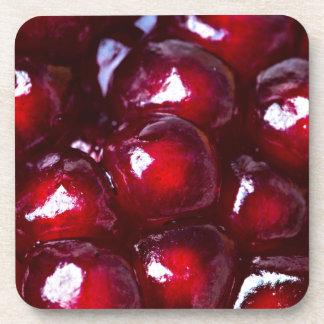 赤いザクロの種 コースター