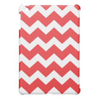 赤いシェブロン() iPad MINI カバー