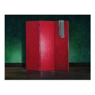 赤いスクリーン1990年 ポストカード