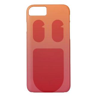 赤いスマイルPhonecase iPhone 8/7ケース