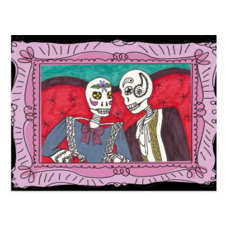 赤いソファーの秘密を言うこと ポストカード