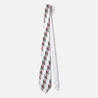 赤いタンゴの靴 ネクタイ