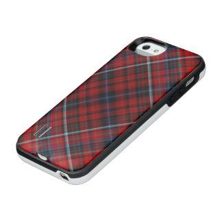 赤いタータンチェック iPhone SE/5/5sバッテリーケース