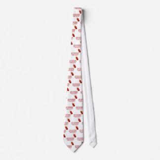 赤いダニ ネクタイ