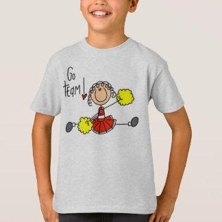赤いチアリーダー Tシャツ