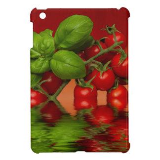 赤いチェリートマトのベズル iPad MINIケース