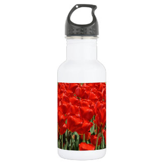 赤いチューリップ ウォーターボトル